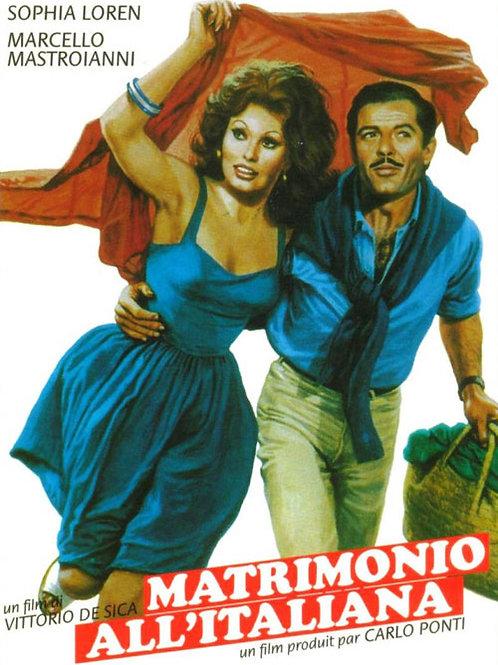 MATRIMÔNIO À ITALIANA (Matrimonio All'Italiana, 1964)