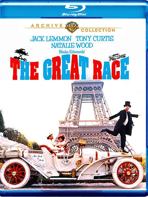A CORRIDA DO SÉCULO (The Great Race, 1965) Blu-ray