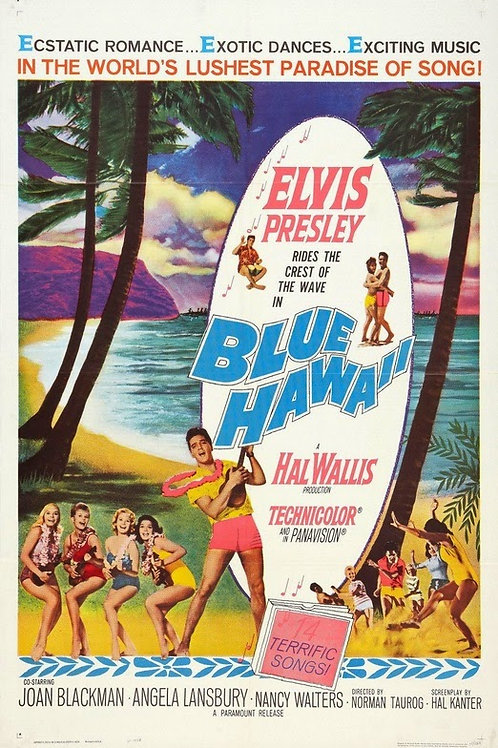 FEITIÇO HAVAIANO (Blue Hawaii, 1961) BluRay