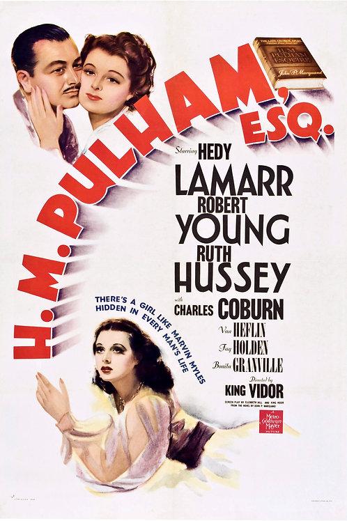 SOL DE OUTONO (H.M. Pulham, Esq., 1941)