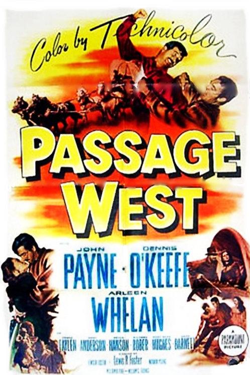 LEGIÃO DE DESESPERADOS (Passage West, 1951)