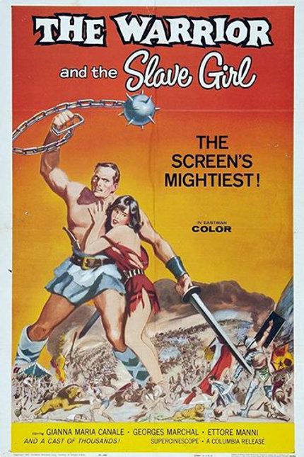 A REVOLTA DOS GLADIADORES (La rivolta dei gladiatori, 1958)