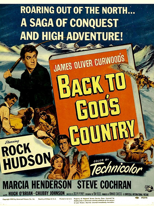 CHOQUE DE PAIXÕES (Back To God's Country, 1953)