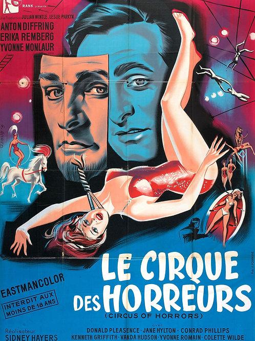 CIRCO DOS HORRORES (Circus of Horrors, 1960)