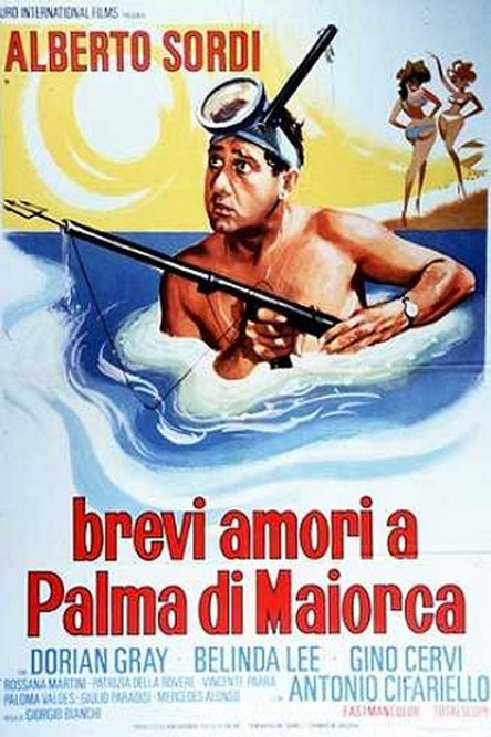 FÉRIAS EM MAJORCA (Brevi Amore a Palma di Marjorca, 1959)