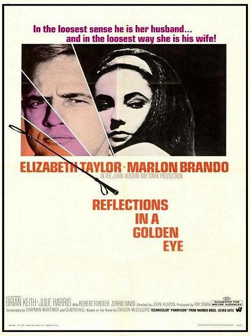 OS PECADOS DE TODOS NÓS (Reflections in a Golden Eye, 1967)