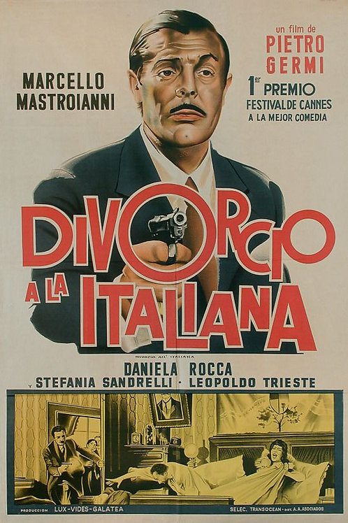 DIVORCIO A ITALIANA  (Divorzio All'Italiana, 1962)