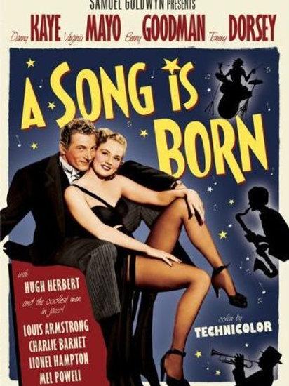 A CANÇÃO PROMETIDA (A Song Is Born, 1948)