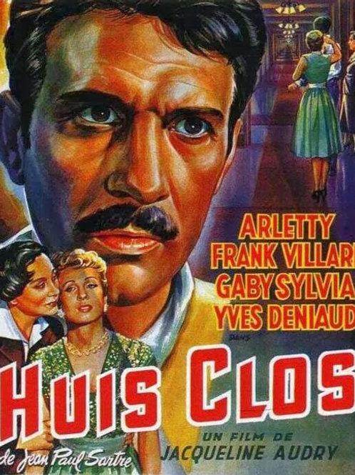 ENTRE QUATRO PAREDES (Huis-clos, 1954)
