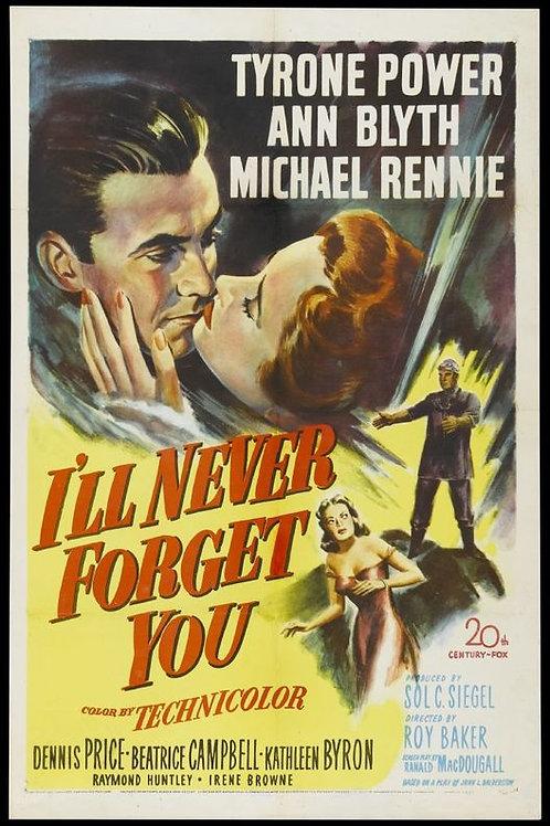 JAMAIS TE ESQUECEREI (I'll Never Forget You, 1951) bluray
