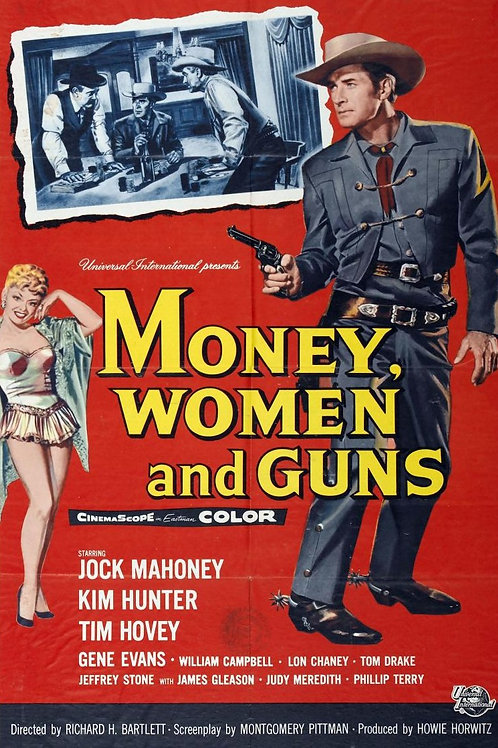 FALTA UM PARA VINGAR (Money, Women and Guns, 1958)