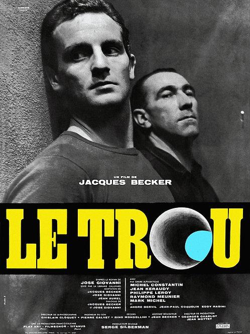 A UM PASSO DA LIBERDADE (Le Trou, 1960)