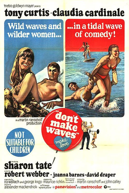 NÃO FAÇA ONDA (Don't Make Waves, 1967)