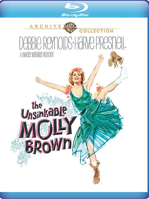 A INCONQUISTÁVEL MOLLY (The Unsinkable Molly Brown,1964) Blu-ray