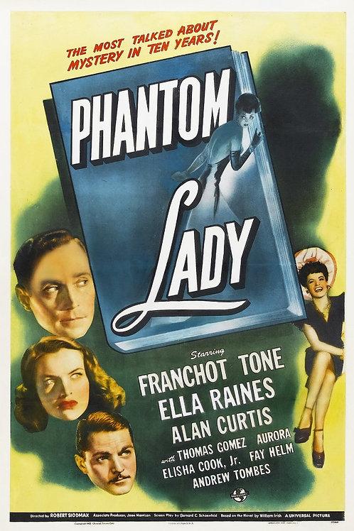 DAMA FANTASMA (Phantom Lady, 1944)