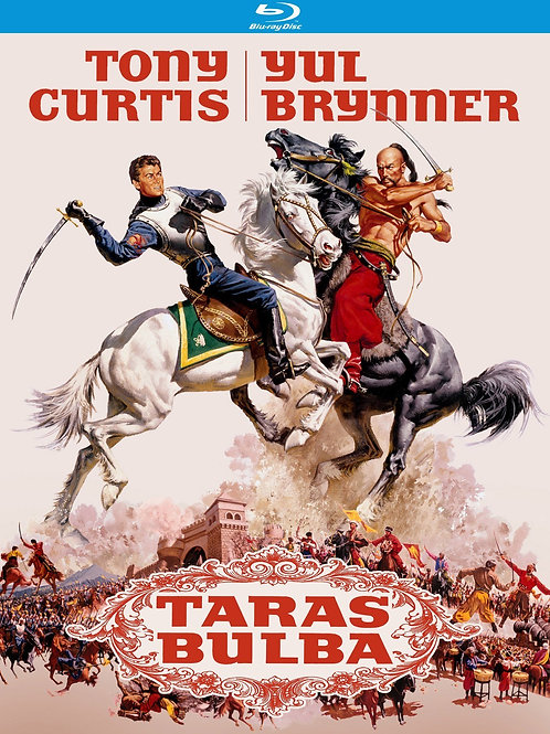 TARAS BULBA (Taras Bulba, 1962) Bluray