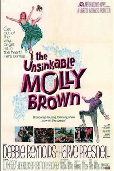 A INCONSQUISTÁVEL MOLLY (The Unsinkable Molly Brown, 1964)