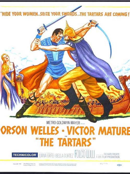 OS BRAVOS TÁTAROS (I Tartari, 1961)