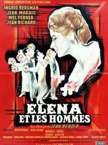 AS ESTRANHAS COISAS DE PARIS (Elena et les Homes, 1956)