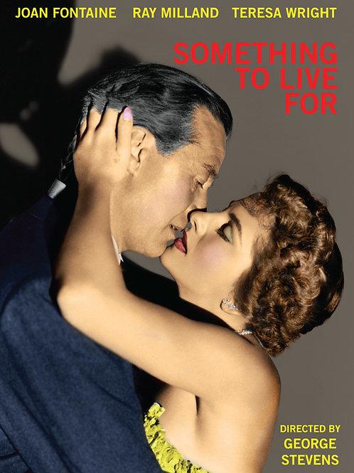 NA VORAGEM DO VÍCIO (Something To Live For, 1955)