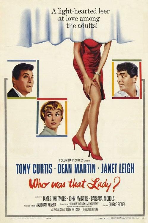 QUEM ERA AQUELA PEQUENA? (Who Was That Lady, 1960)