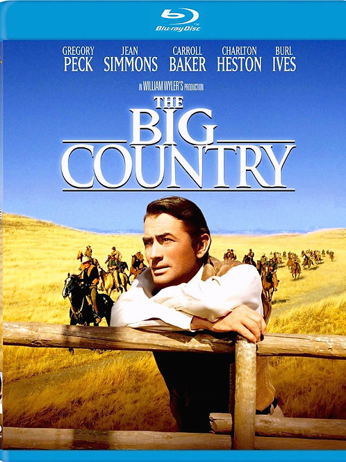 DA TERRA NASCEM OS HOMENS (The Big Country, 1958) bluray