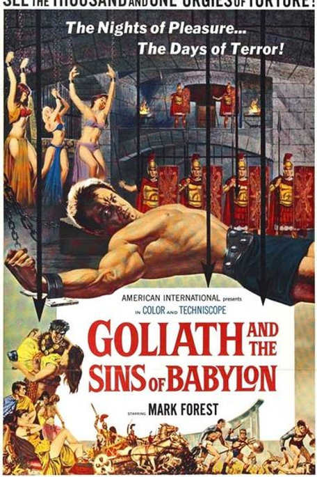 GOLIAS E OS PECADORES DA BABILÔNIA (Goliath and The Slaves of Babylon, 1963)