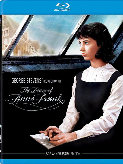 O DIÁRIO DE ANNE FRANK (The Diary of Anne Frank, 1959) Bluray