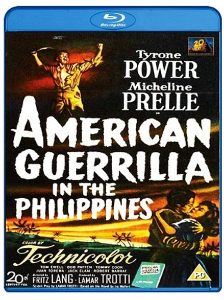 GUERRILHEIROS DAS FILIPINAS (American Guerrilla In The Phillipines, 1950) Bluray