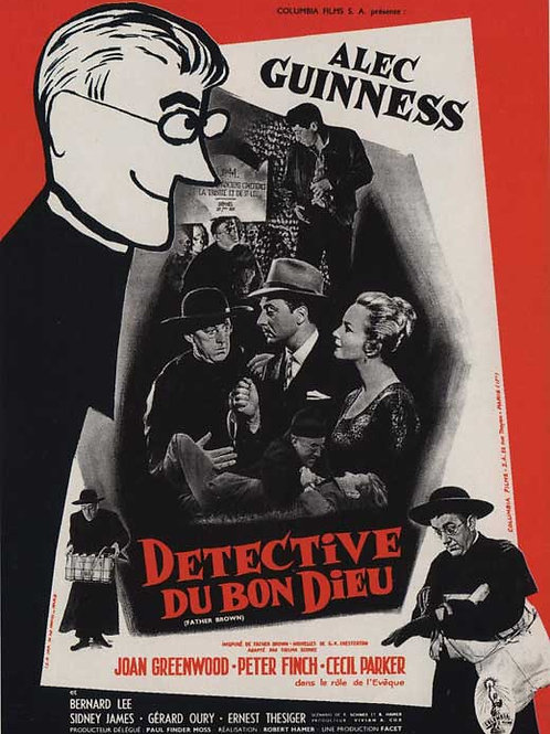AS AVENTURAS DO PADRE BROWN (The Detective, 1953)