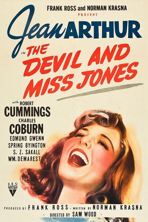 O DIABO É MULHER (The Devil and Miss Jones,1941)