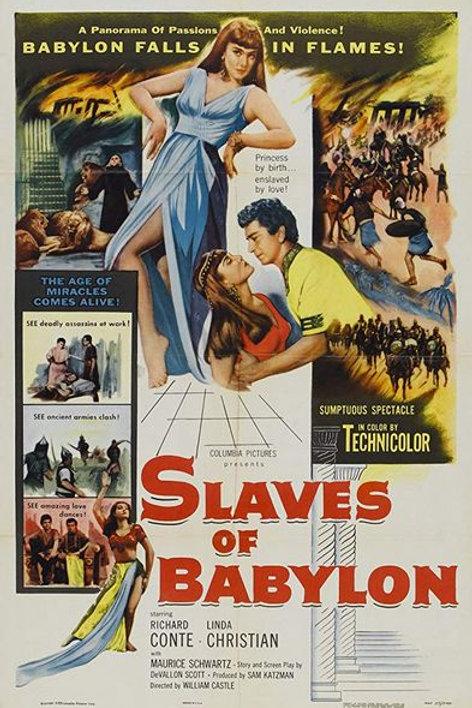 ESCRAVOS DA BABILÔNIA (Slaves of Babylon, 1953)