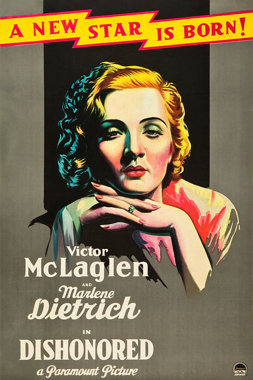 DESONRADA (Dishonored, 1931)