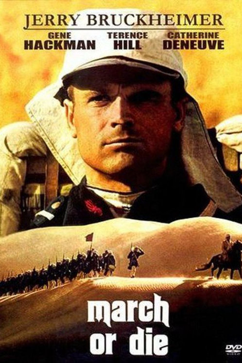 MARCHA OU MORRE (March or Die, 1977)