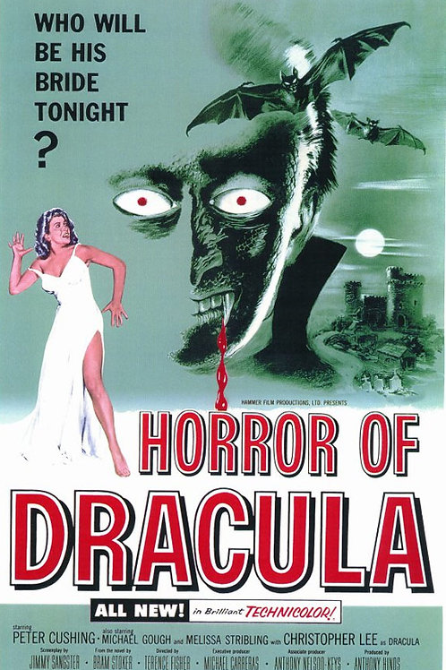 DRÁCULA, O VAMPIRO DA NOITE (Horror of Dracula,
