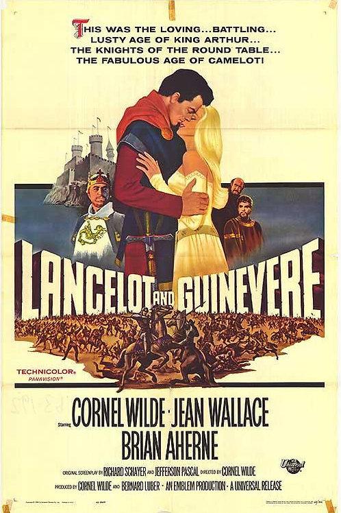 LANCELOT, O CAVALEIRO DE FERRO (Lancelot and Guinevere, 1963)