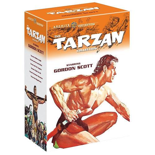 COLEÇÃO TARZAN GORDON SCOTT (da Warner Archive)