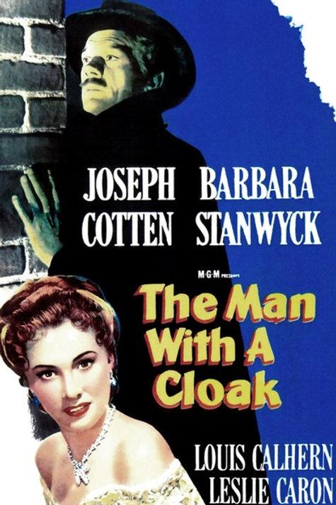 O HOMEM DAS SOMBRAS (The Man With A Cloak, 1951)