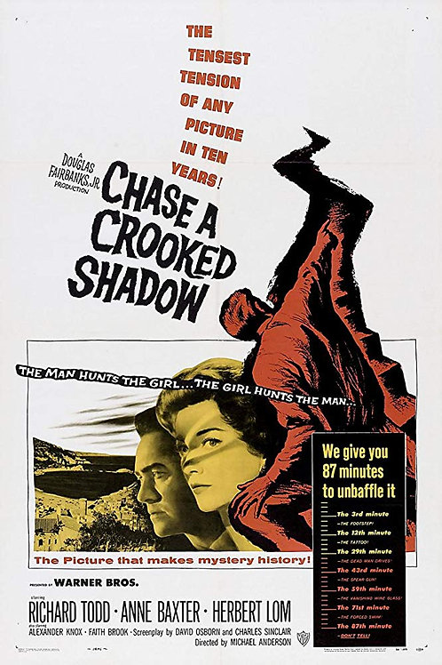 SOMBRA MALÍGNA (Chase a Crooked Shadow, 1958)