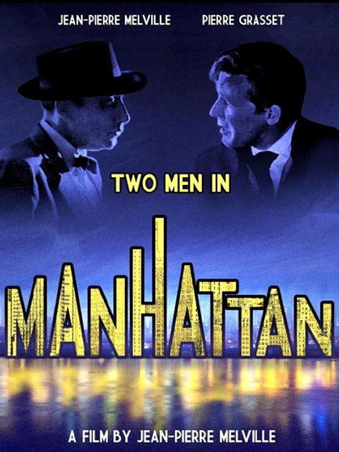 DOIS HOMENS EM MANHATAN (Deux hommes dans Manhattan, 1959)