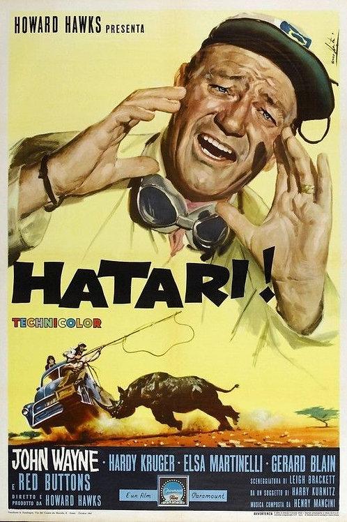 HATARI! (Idem, 1962) bluray