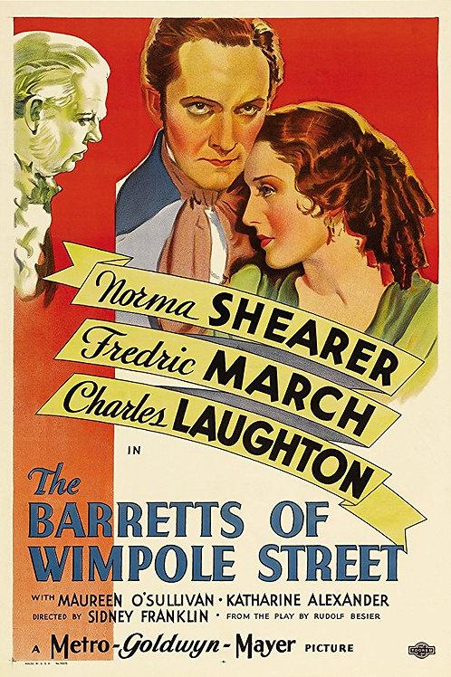 A FAMÍLIA BARRETT (The Barretts of Wimpole Street, 1934)