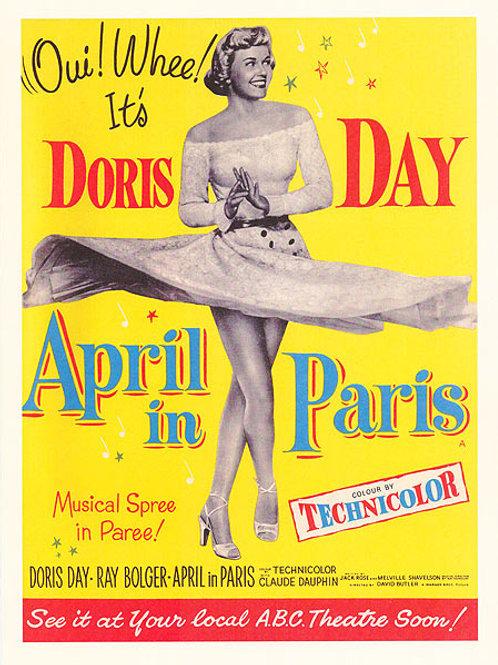 ABRIL EM PARIS (April Love, 1952)
