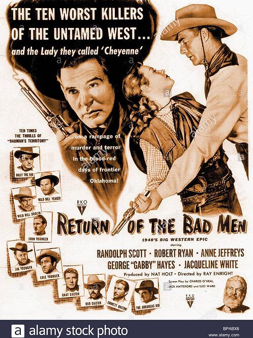 A VOLTA DOS HOMENS MAUS (Return of the Badmen,