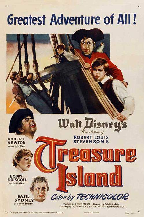 A ILHA DO TESOURO (Treasure Island, 1950)