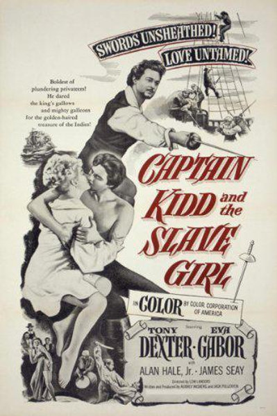 CAPITÃO KIDD E A ESCRAVA (Captain Kidd And The Slave Girl, 1954)