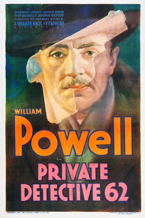 QUANDO A SORTE SORRI (Private Detective 62, 1933)
