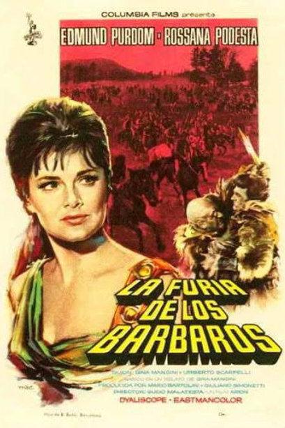 AVALANCHA DE BÁRBAROS (La Furia Dei Barbari, 1960)
