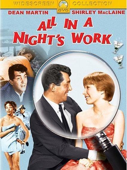A DAMA DA MADRUGADA (All In A Night's Work, 1961)