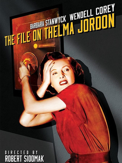 A CONFISSÃO DE THELMA (The File On Thelma Jordan, 1950) Blu-ray